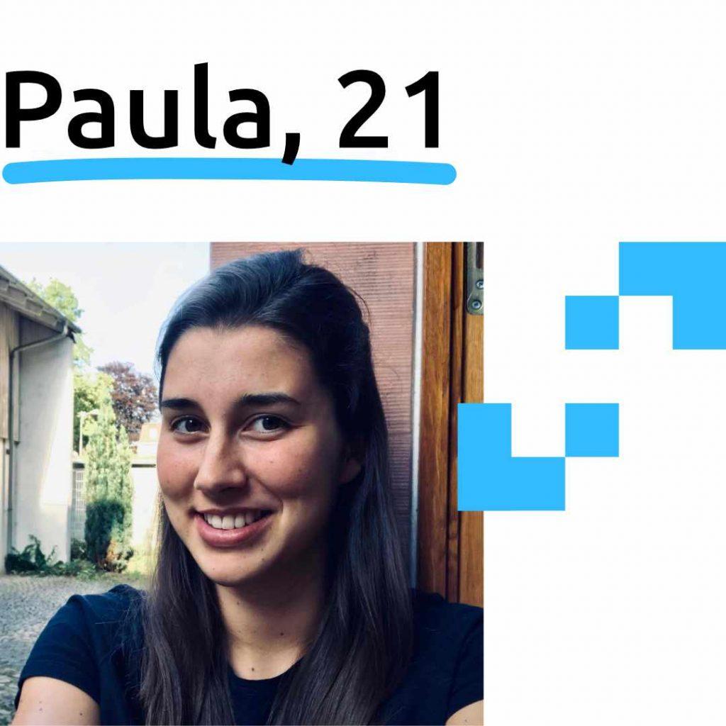 Paula, 21