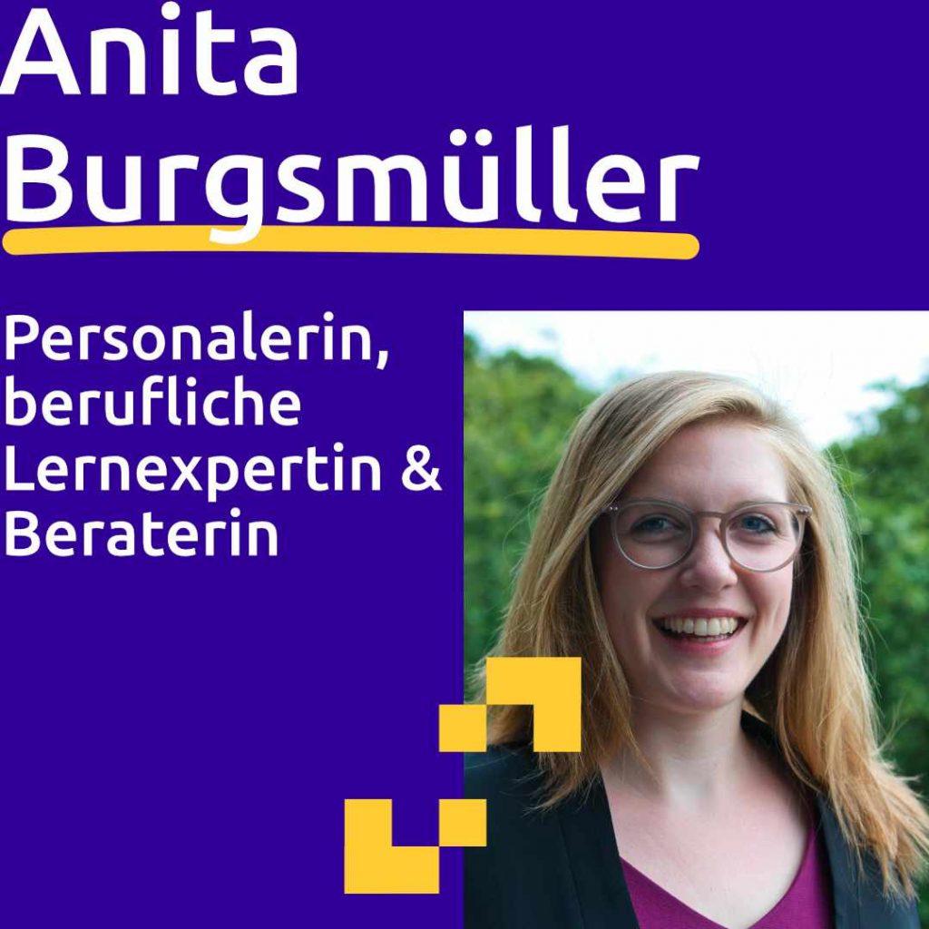 Anita Burgsmüller: Personalerin, berufliche Lernexpertin & Beraterin
